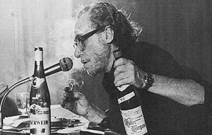 Буковски и алкоголь