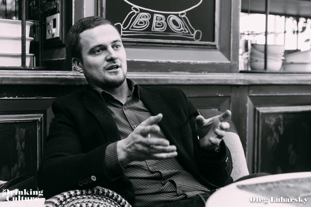 Бренд-шеф-бармен GINZA PROJECT, Владимир Хрусталев
