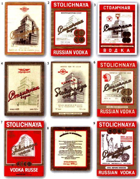 советская этикетка