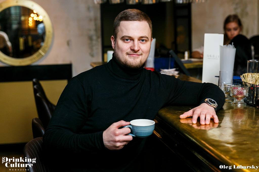 ресторан Godji, Владимир Хрусталев