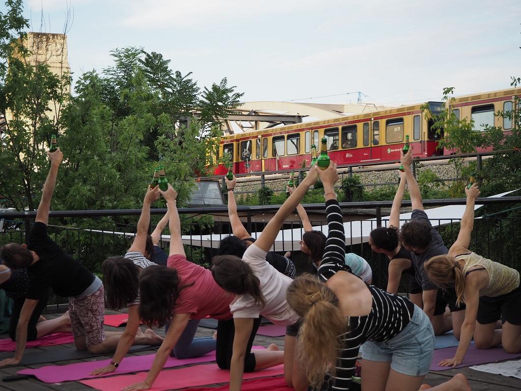 пивная йога, йога туры