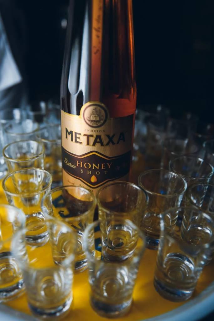 Metaxa honey