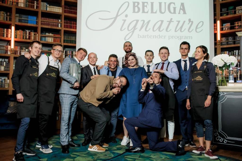Бармен из Петербурга, Beluga Signature 2018
