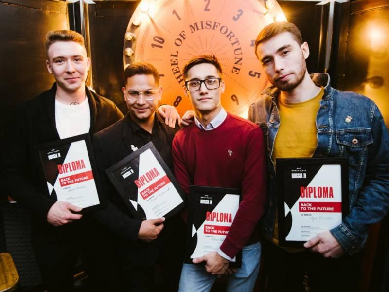 победители Diageo Reserve World Class Россия 2019