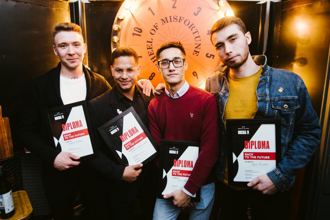 победители Diageo Reserve World Class Россия 2019