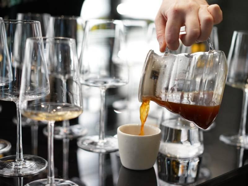 кофе с вином