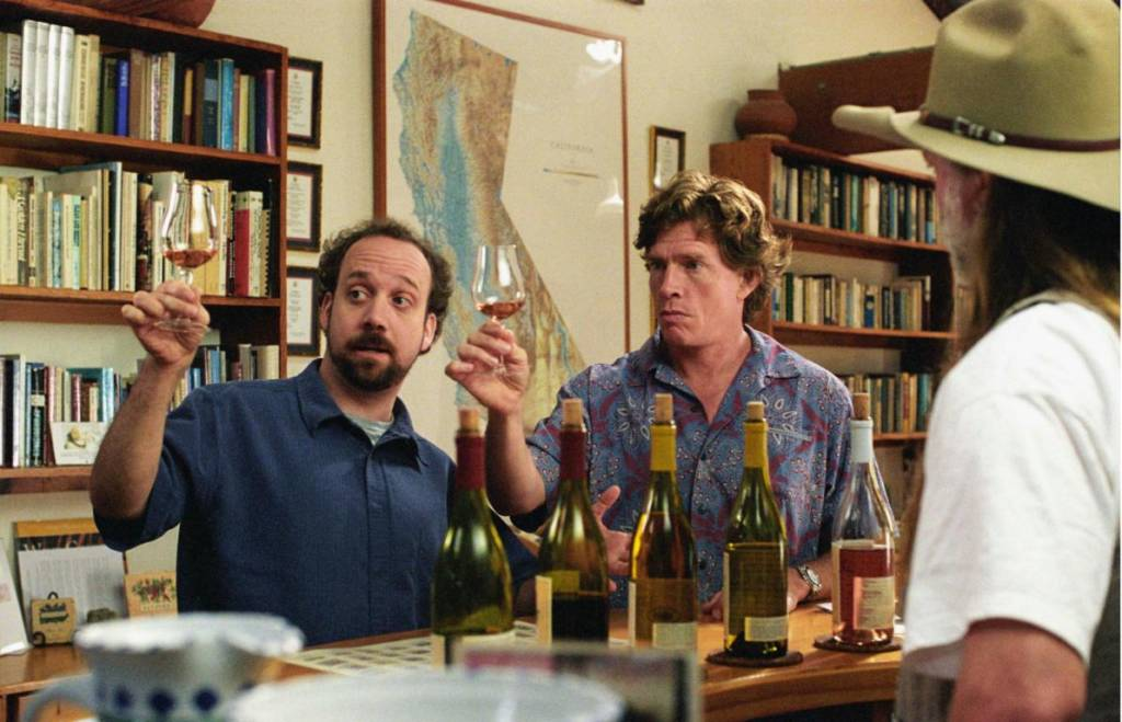 кино про вино, на обочине