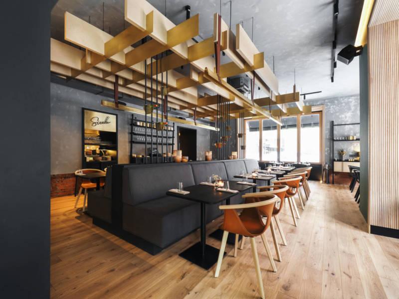 The Sizzle ресторан, интерьер ресторана