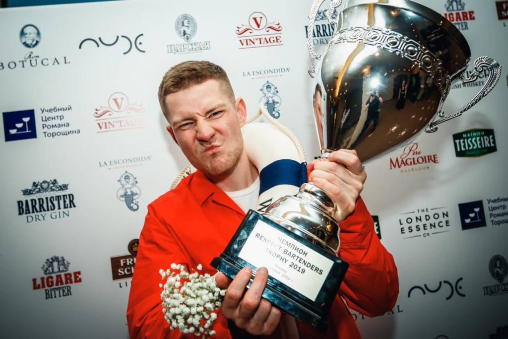 Respect Bartenders Trophy, Шашин Евгений