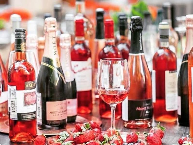 pink summer, простые вещи new vintage, винный бар, розовое вино