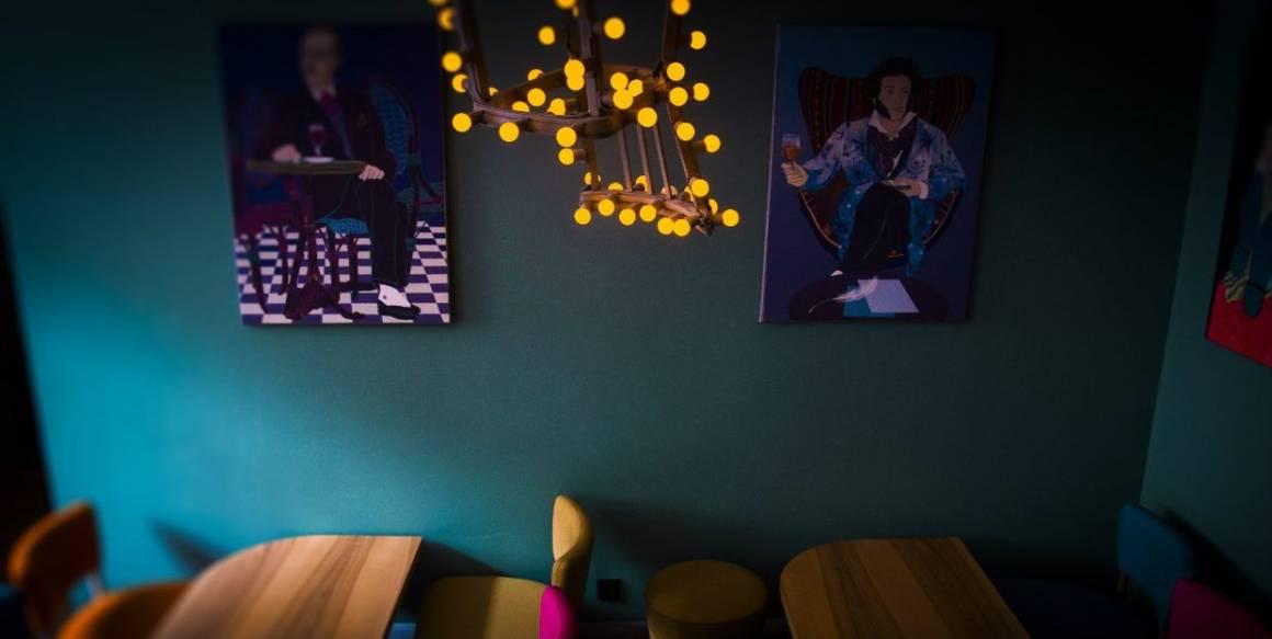 бар полторы комнаты, perfect serve, день рождения бара, коктейли, вечеринка, интерьер