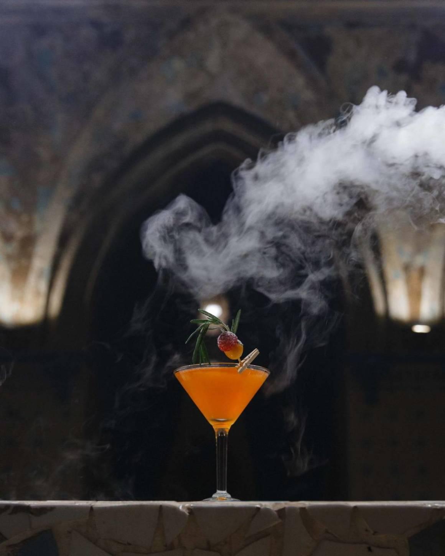 лаунж, кальянная, TERMA, хлудовские бани, коктейль