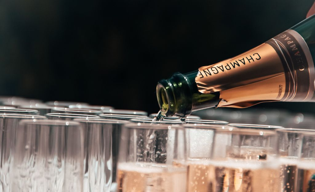 шампанское, шампань, игристое, виноградник, французское вино