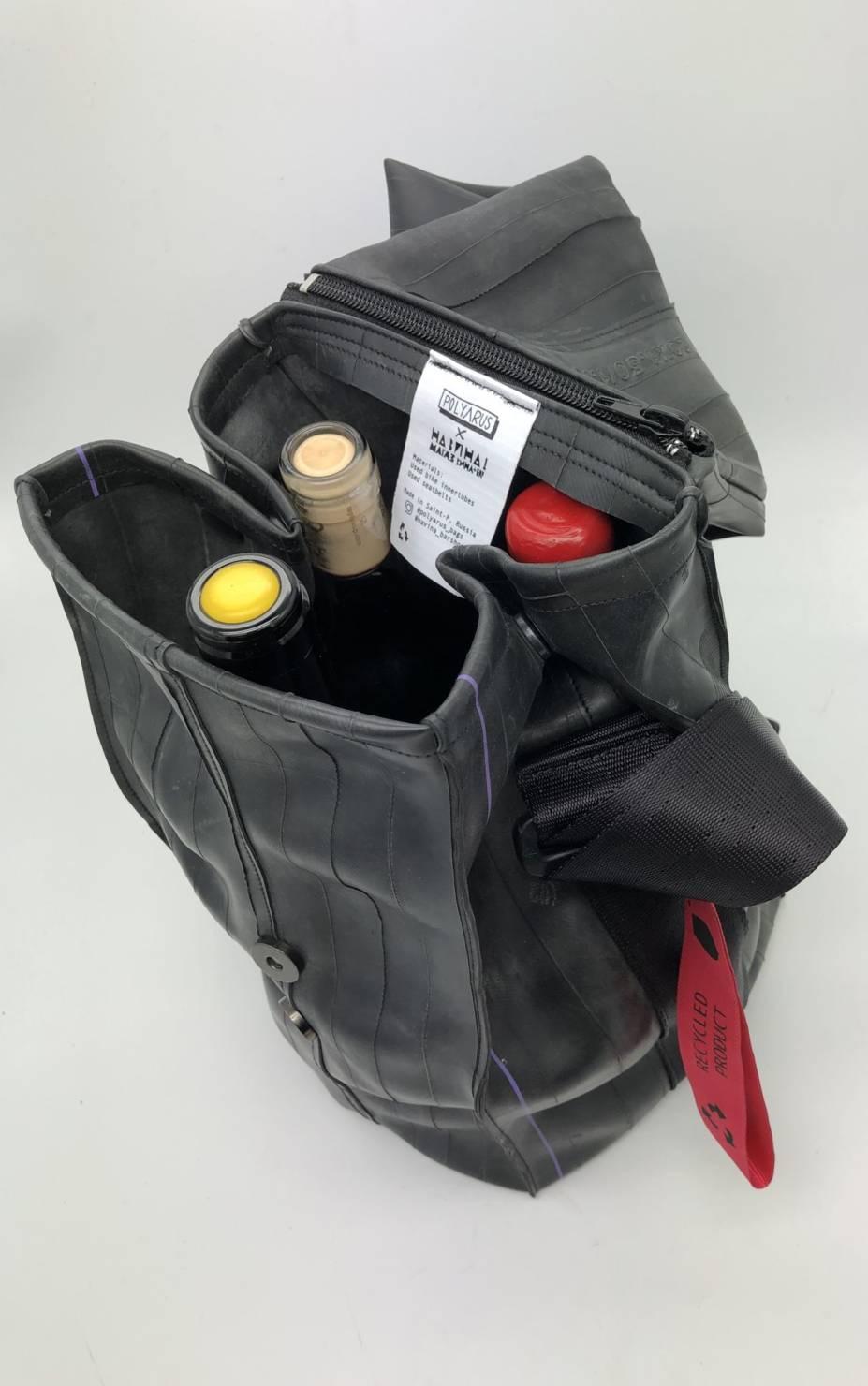 сумки для вина, polyarus, на вина, винный бар, модная коллаборация, сумка бутылка, экосумка
