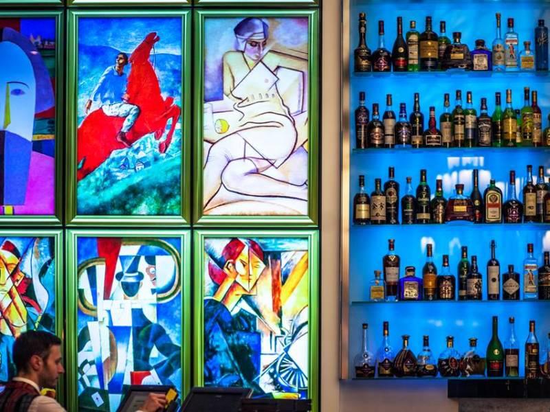 коктейль, оригинальная подача, летние коктейли меню, ресторан блок