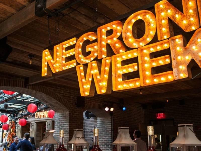 negroni, negroni week, ,campari, благотворительность