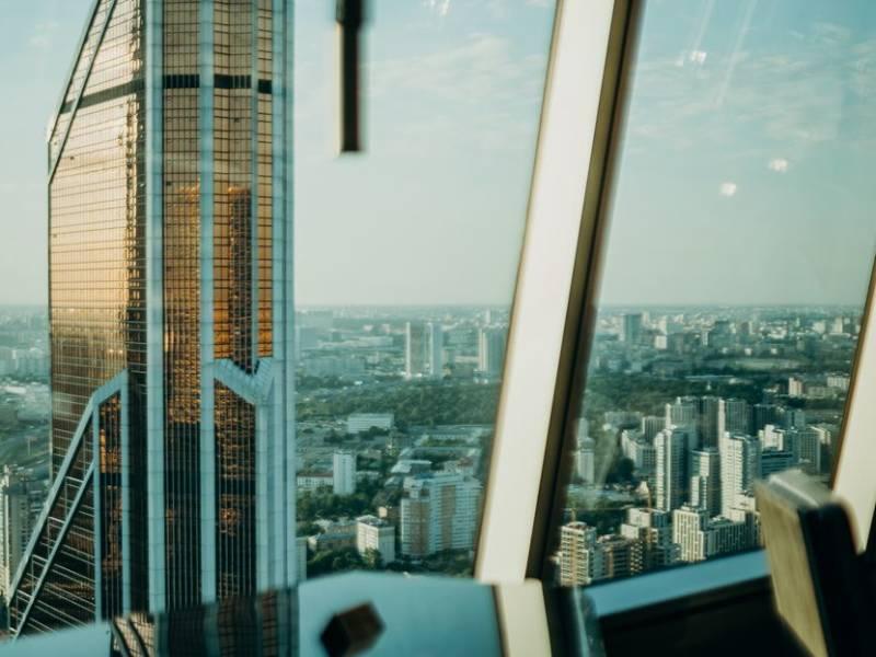 панорамный бар, вид с высоты, видовой бар, московский панорамный бар, коктейльная карта