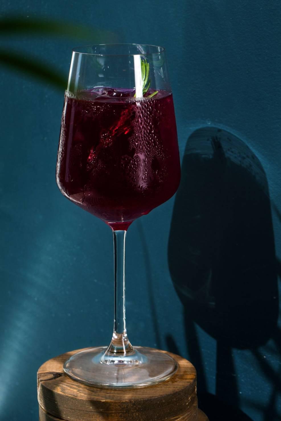 свекольный пунш, ресторан банщики, летние коктейли