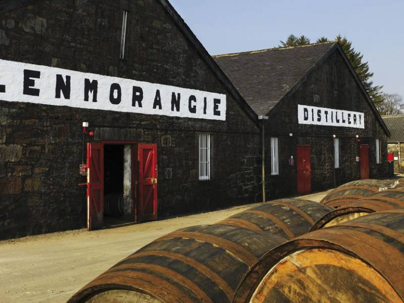 glenmorangie, виски glenmorangie, винтажный виски, лимитированная коллекция, лимитированный виски, Glenmorangie Grand Vintage Malt