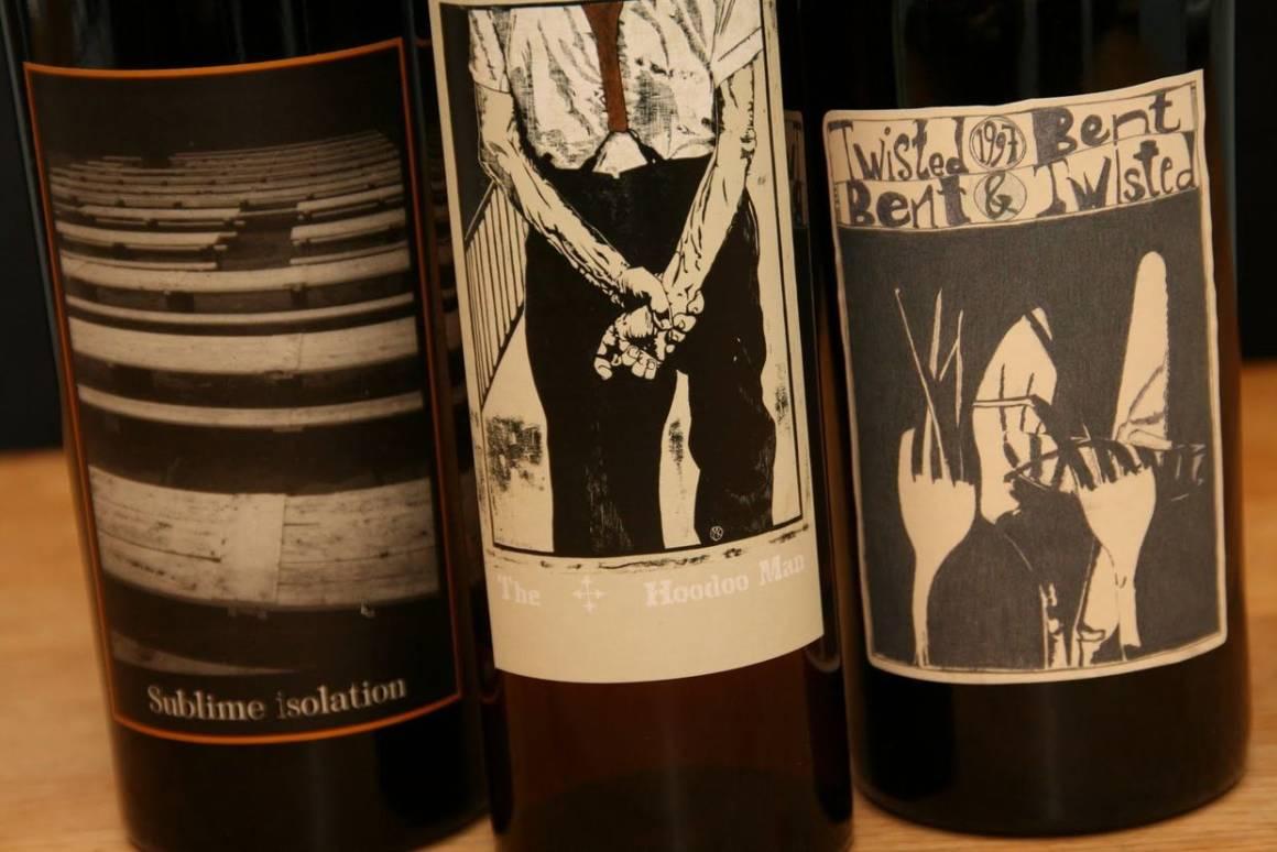 Sine Qua Non, вино, винные этикетки, дизайн этикетки