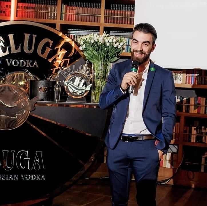 Alessandro Venturi, Beluga signature,национальный финал конкурса барменов