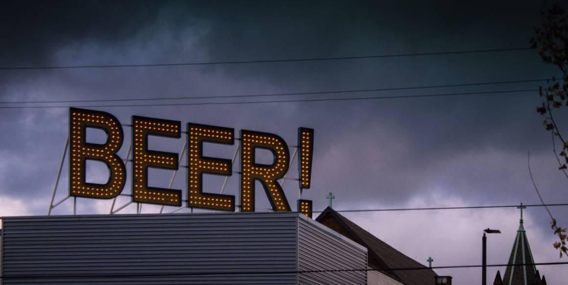 американское пиво, пивоварня founders, blackbird bar, бар blackbird, лагер, история пивоварения