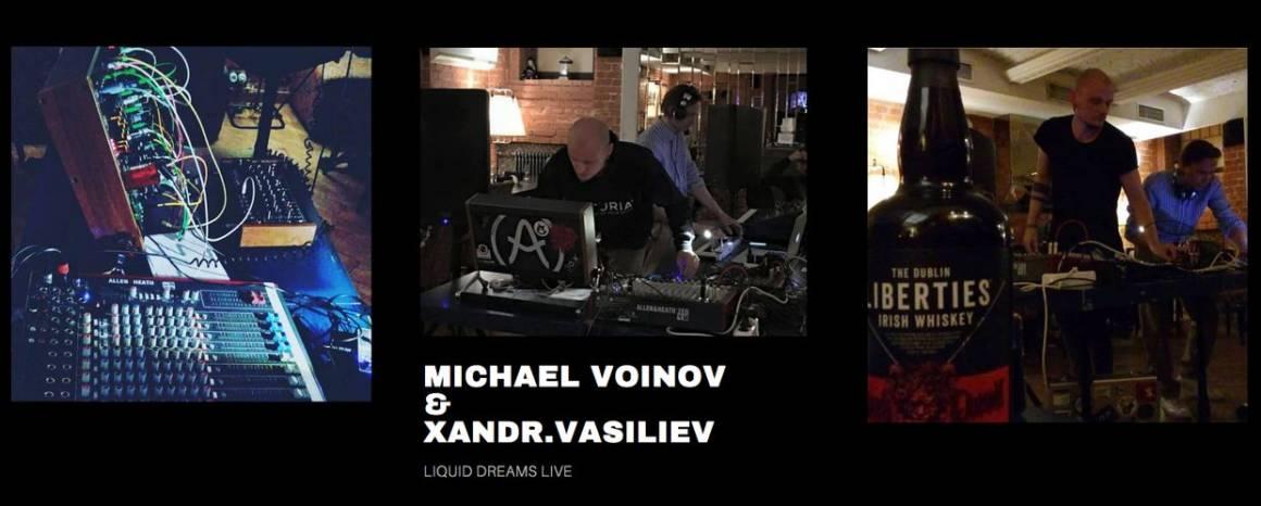 michael voinov, xandr vasiliev, music collaboration, liquid dreams