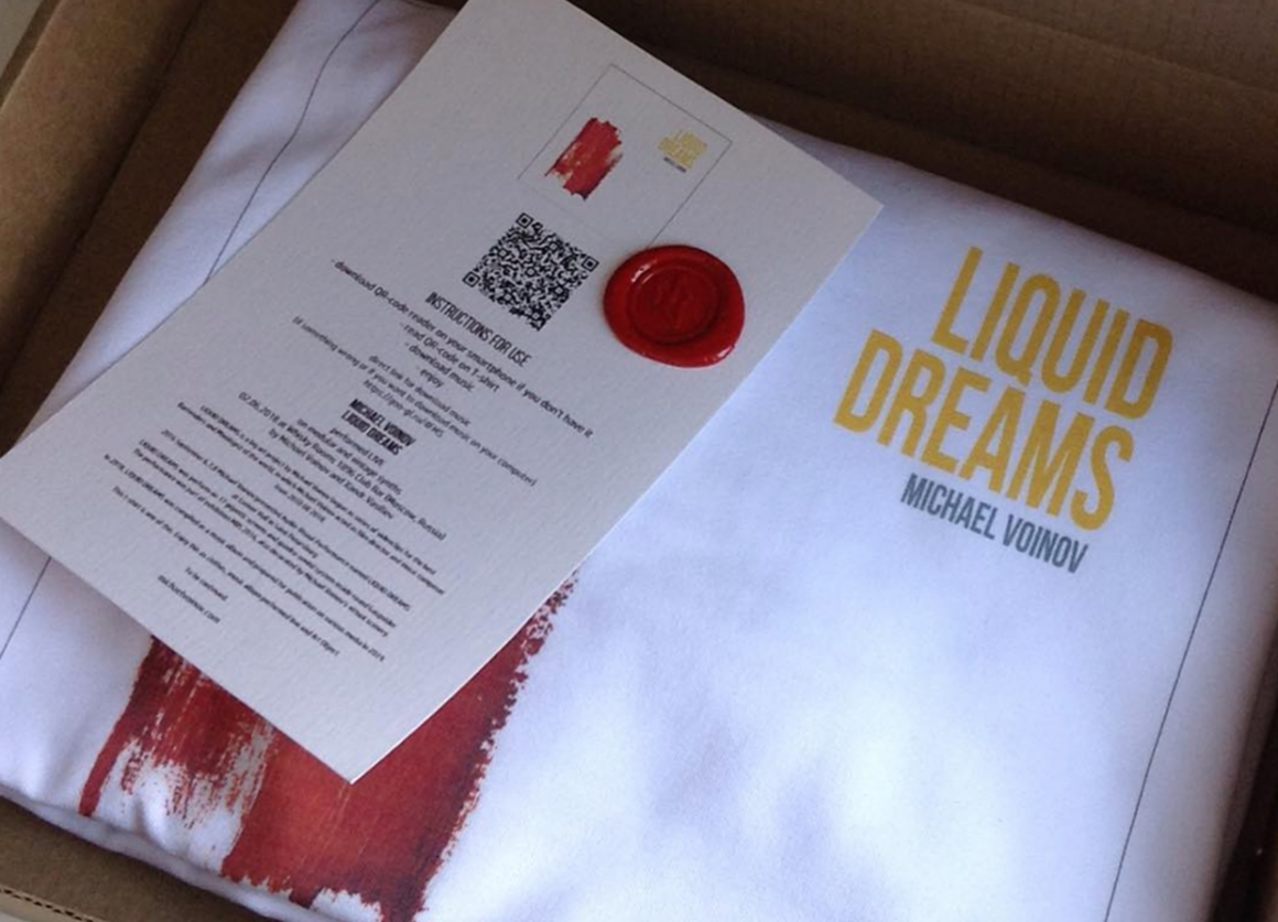 liquid dreams, art project, t-shirt