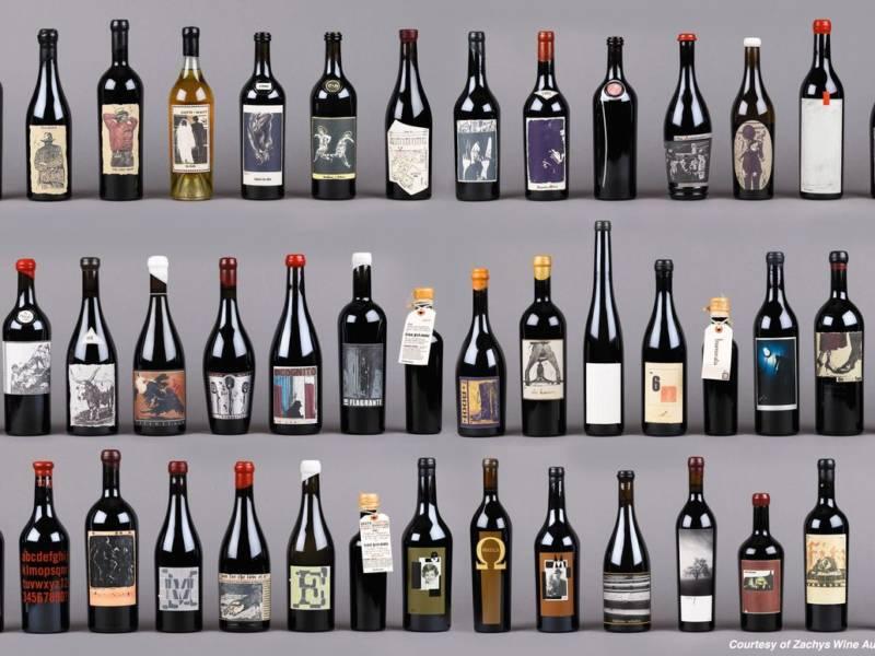 Sine Qua Non, вино, дизайнерские этикетки