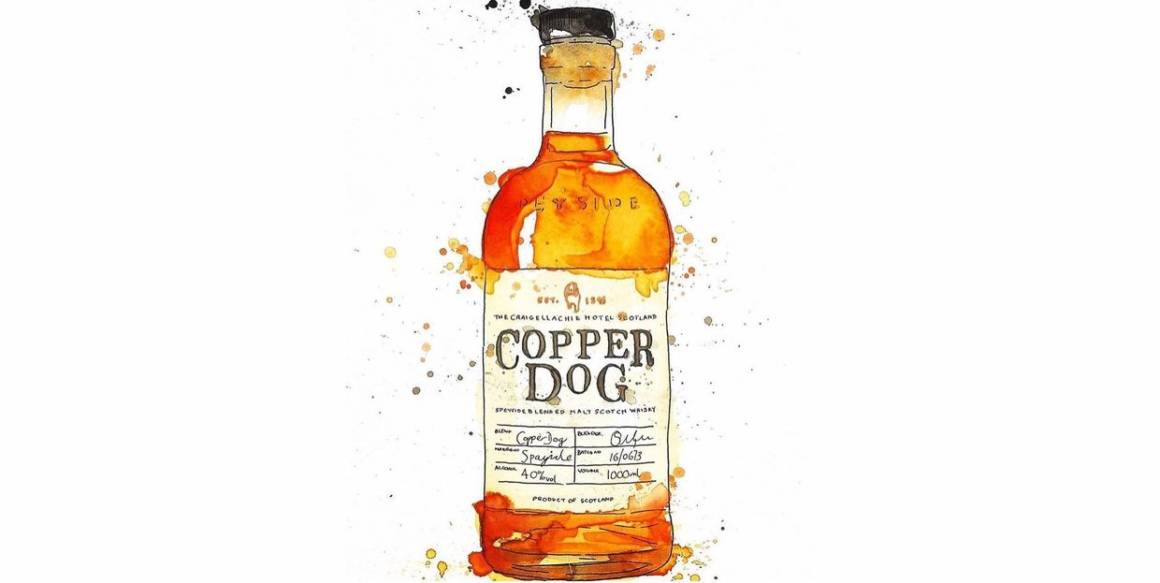 Copper Dog, виски Copper Dog, односолодовый виски, Craigellachie, MBS, MOSCOW BAR SHOW, DCW Magazine