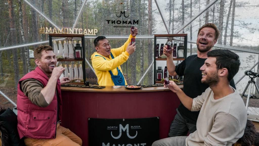 MAMONT CAMP, звезды comedy club, путешествия, глэмпинг, мамонт водка, карелия