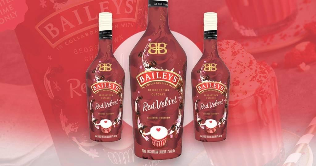 Ликер Baileys Red Velvet