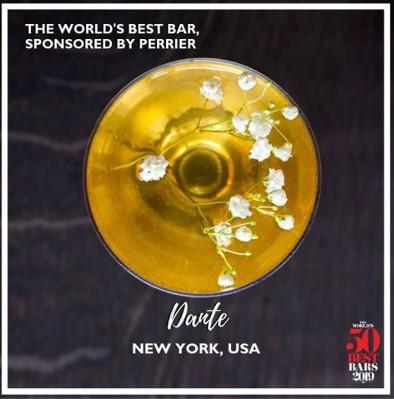 The World's 50 best bars 2019, лучшие бары мира, Dante
