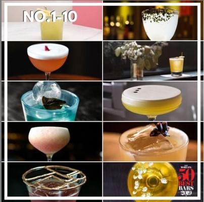 The World's 50 best bars 2019, лучшие бары мира