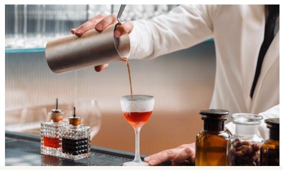 коктель, приготовление коктейля, куда сходить в милане, camparino, бар, milan