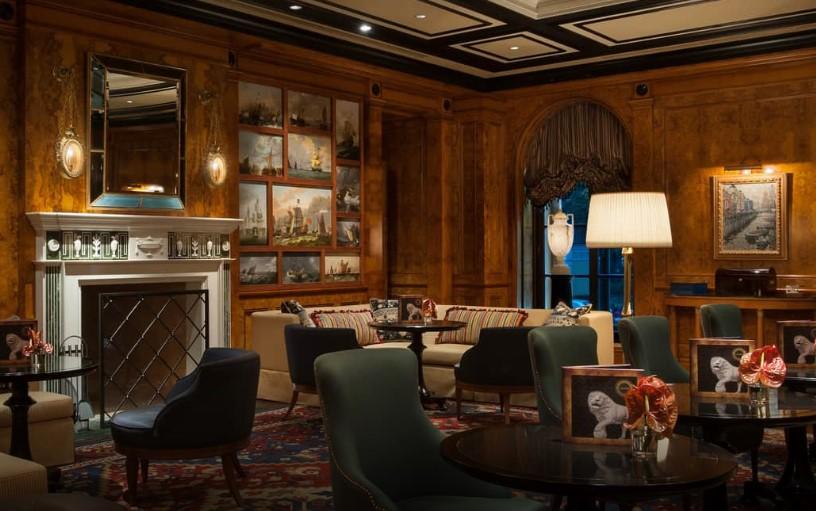 Xander bar, Four seasons hotel Russia, шикарный бар, интерьер бара. бар в Петербурге, куда пойти в Петербурге
