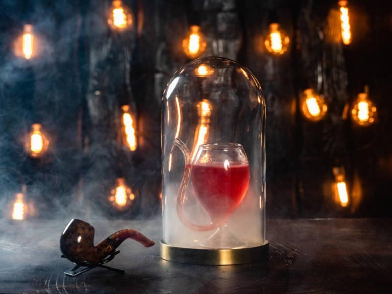 MadLabBar, оригинальная подача коктейль, праздничные коктейли