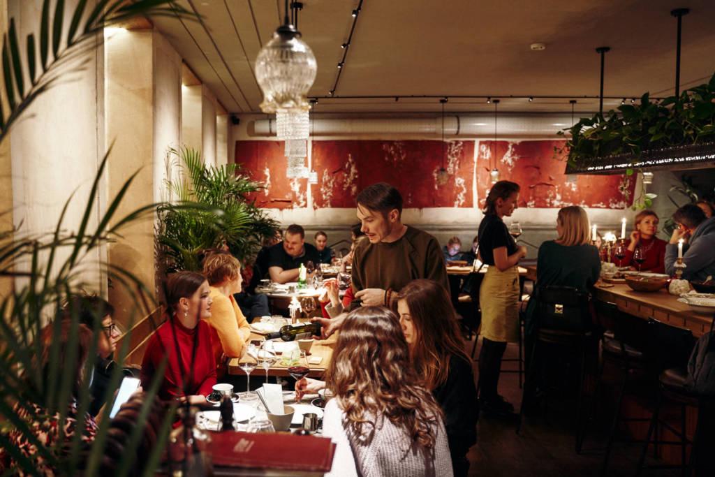 ресторан литера g, грузинская кухня, грузинский бар