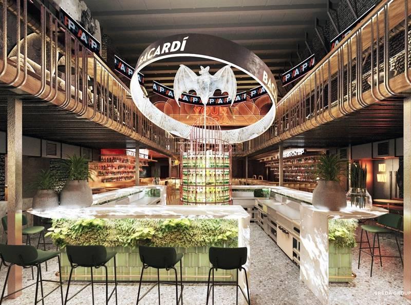 papa bar Москва, bacardi bar, бар бакарди, новый бар