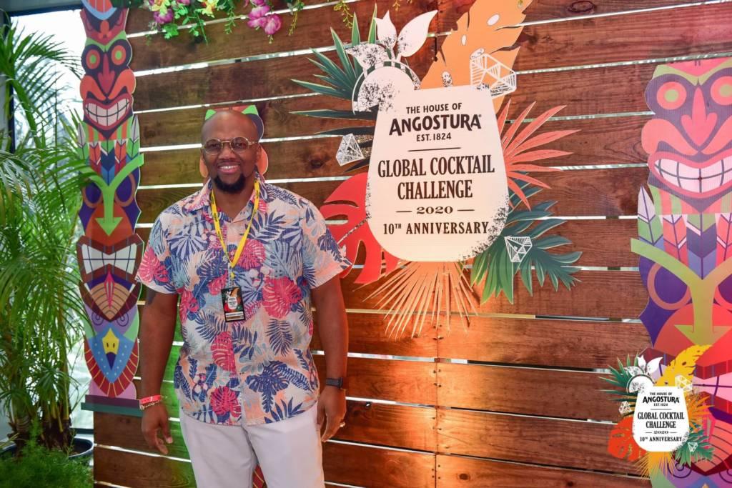 Marv Cunningham, Angostura Global Cocktail Challenge 2020