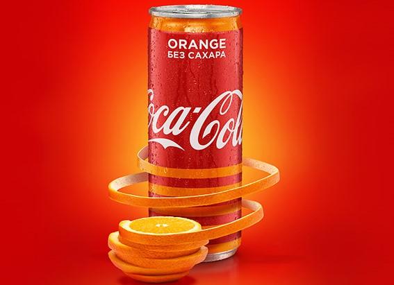 Coca-Cola Orange, апельсиновая кола, кола со вкусом апельсина, Coca-Cola, Diet Coke, как появилась кола, кола без сахара, диетическая кола, DCW Magazine, история кока колы, coca-cola история, без сахара, тренды