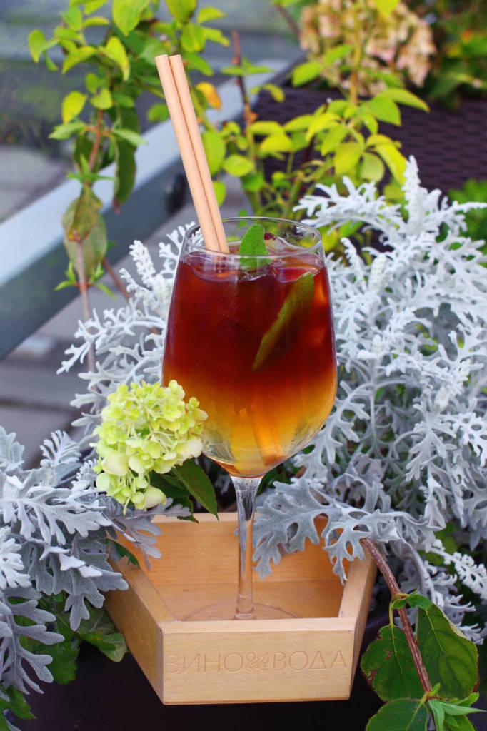коктейль, коктейльная карта, куда пойти в СПб, рестораны Петербурга, ресторан вино и вода, кинококтейли, кино, эспрессо-тоник,спящая красавица