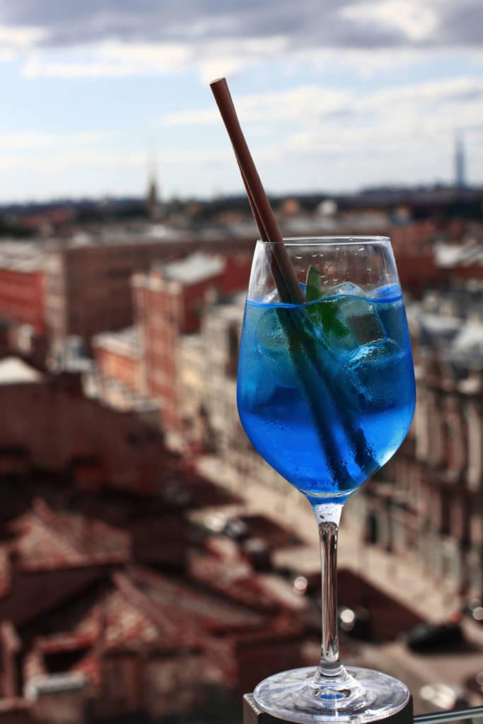 коктейль, коктейльная карта, куда пойти в СПб, рестораны Петербурга, ресторан вино и вода, кинококтейли, кино, ниагара