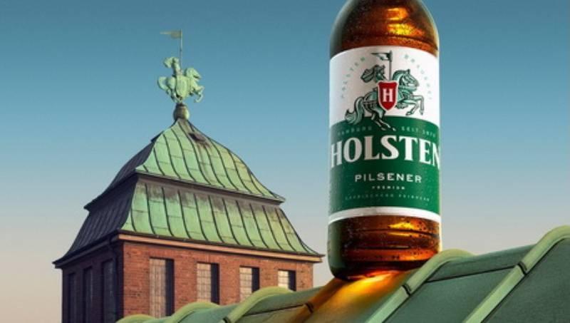 пиво, Holsten, гамбургское пиво, новый дизайн, немецкое пиво, дизайн упаковки