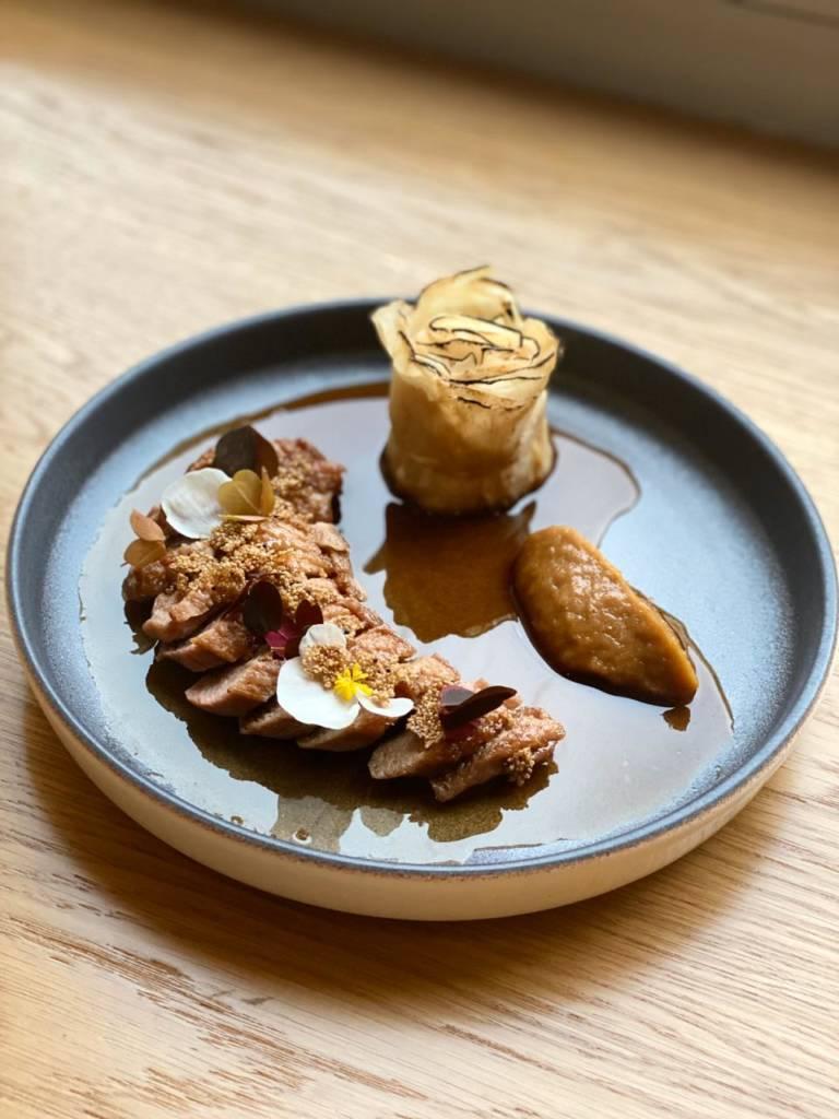 баскская кухня, оригинальная подача блюд, Ресторан Bilbao, рестораны Петербурга, куда пойти в спб, дизайн ресторана, ресторан, испанский ресторан, винный ресторан