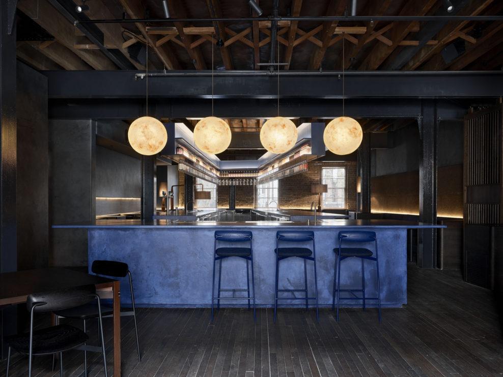 барная стойка, дизайн бара, джин, Four Pillars, австрадия, австралийский джин, дистиллерия, куда пойти в сиднее, сидней, бар, производство джина