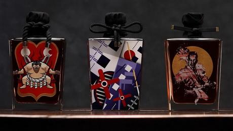 бутылка виски, стритарт, японские художники, dcw magazine
