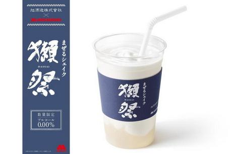 саке, молочный коктейль, япония