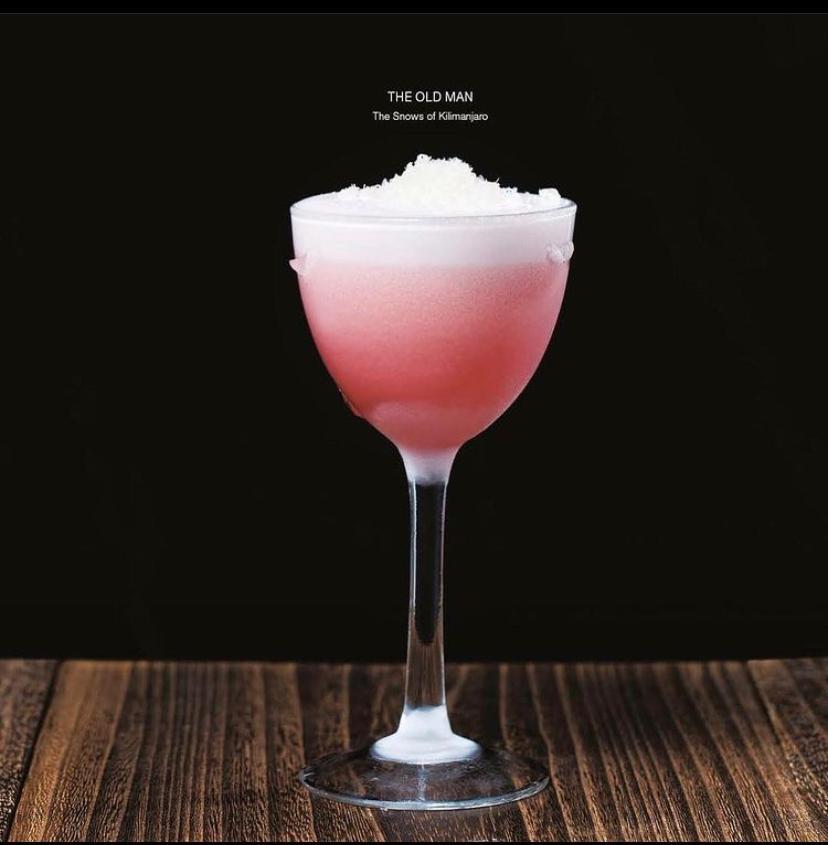 коктейль, розовый коктейль, Лучшие бары мира, куда пойти в Петербурге, bet 50, made in china, dcw magazine, журнал о барах, журнал о коктейлях, эрнест хемингуэй, the old man