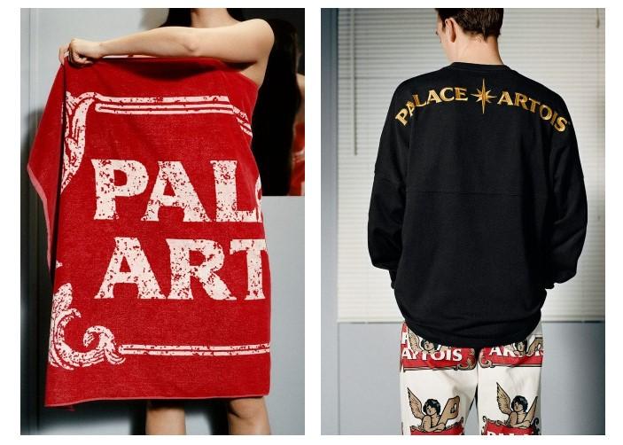 Stella Artois, Palace Artois, Palace Skateboards, модная коллаборация, одежда и пиво, мода, fashion, dcw magazine